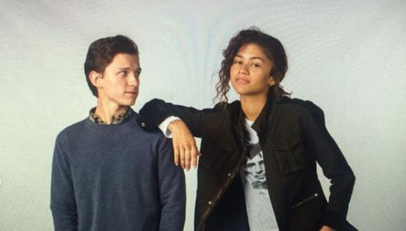 Tom Holland y Zendaya fueron captados besándose en Los Ángeles. (Foto: Tom Holland / Instagram)