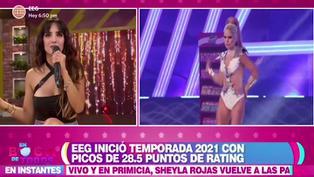 """Rosángela Espinoza sobre look de Michela Elías: """"No la reconocí, parecía de otro planeta"""""""