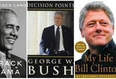 """""""A Promised Land"""" de Barack Obama y otros sonados libros de memorias de expresidentes"""