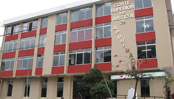 Poder Judicial suspende a jueces de Apurímac, Ucayali y Lima