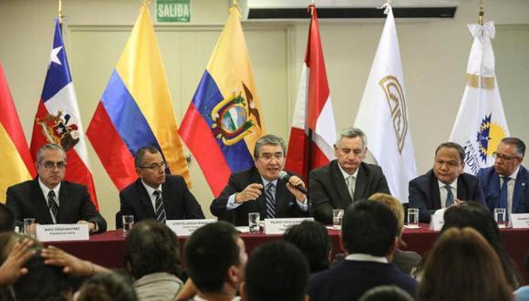El Parlamento Andino es integrado por cinco representantes, y tiene dos suplentes. (Foto: Radio Nacional)