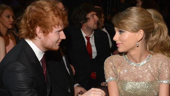 Taylor Swift y los mensajes que se envía con Ed Sheeran