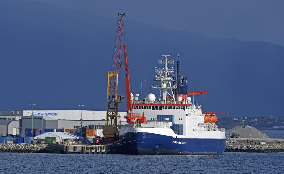 """Rompehielos """"Polarstern"""". (Foto: AFP)"""