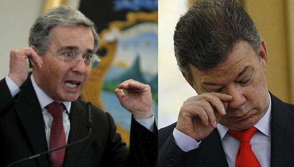 Colombia: Uribe arremete contra Santos por ataque de las FARC