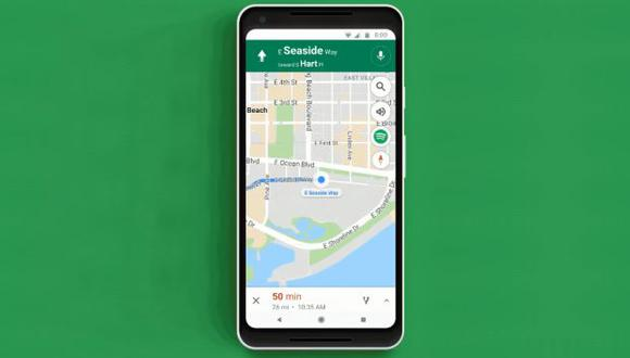 Google Maps almacena tu ubicación de forma automática cada vez que abres la aplicación. (Foto: Google Maps)