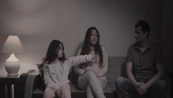"""El video """"Tag de familia"""" llama a la reflexión de la sociedad civil y la atención del Estado en medio de la pandemia por la COVID-19. (Captura: Video)"""