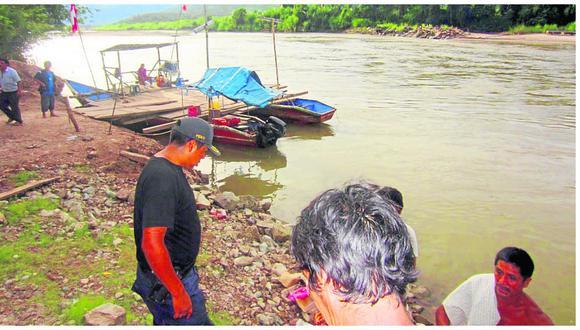 Junín: Padre de familia y su hija son arrastrados por turbulentas aguas de río Perené. (Foto referencial)