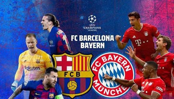 En uno de los duelos más atractivos de esta ronda de cuartos de final, Barcelona de Lionel Messi se verá las caras ante el Bayern Múnich de Robert Lewandoski. Aquí te contamos todos los detalles. (Foto: FC Barcelona)