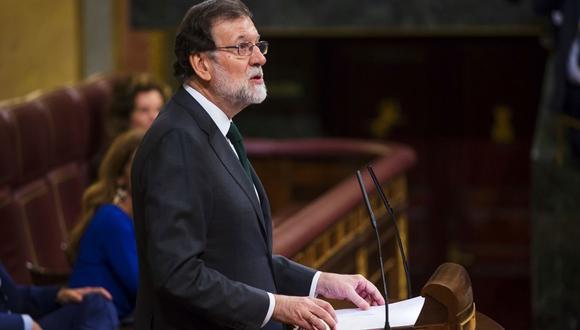 Mariano Rajoy fue destituido. (Bloomberg)