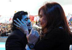 Cristina Fernández despidió a Diego Maradona en la Casa Rosada