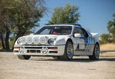 Ícono del Rally: a la venta un Ford RS200 Evolution del Grupo B