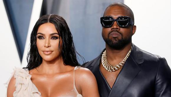 Kim Kardashian y Kanye West. (REUTERS/Danny Moloshok)