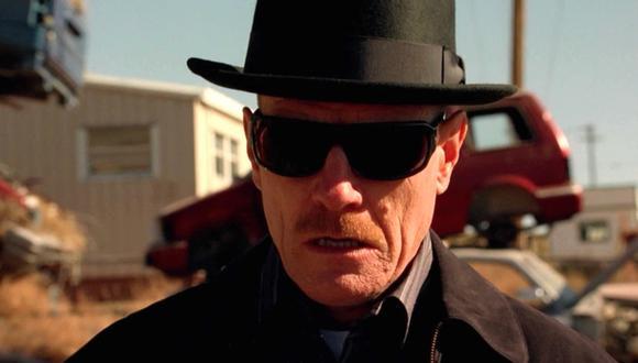 """""""Breaking Bad"""" fue protagonizada por Bryan Cranston, que interpretó al peligroso narco Walter White. Foto: AMC."""