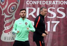 Chile vs. Portugal:Bernardo Silva es duda para semifinales de Copa Confederaciones