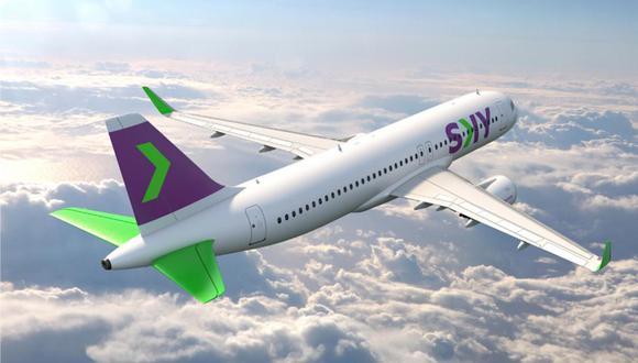 Sky Airline es la mejor aerolínea low cost en América del Sur. (Foto: infobae)
