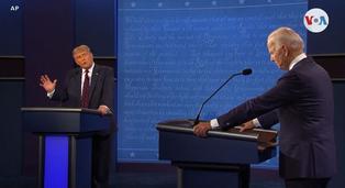 Acusaciones e interrupciones marcaron el primer debate presidencial entre Donald Trump y Joe Biden