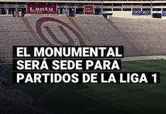 Estadio Monumental fue confirmado para partidos de la Fase 2 de la Liga 1