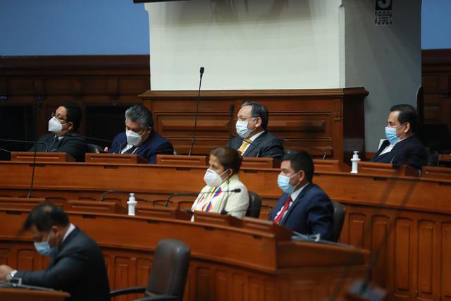 La bancada de UPP, que es aliada al encarcelado Antauro Humala, ha promovido la segunda moción de vacancia contra el presidente Martín Vizcarra. (Foto: Presidencia de la República)