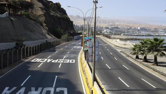 La medida busca evitar los desplazamientos de personas. (Foto: Jessica Vivente/GEC)