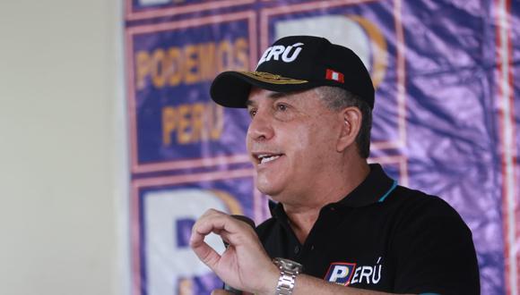 Fiscalía solicita 25 años de cárcel contra candidato presidencial de Podemos Perú, Daniel Urresti, por el asesinato de Hugo Bustíos.