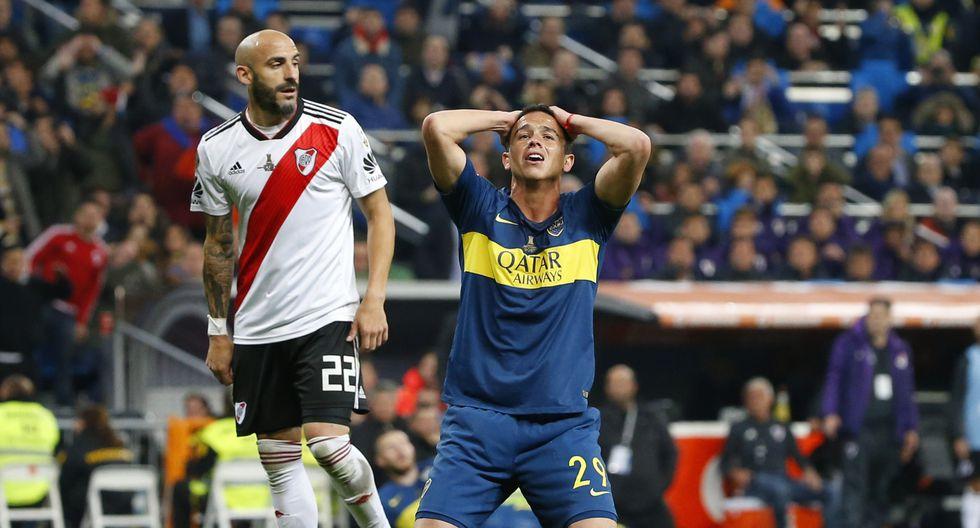 Jugadores e hinchas sufrieron en el Santiago Bernabéu tras caer en la final ante River Plate   Foto: AP