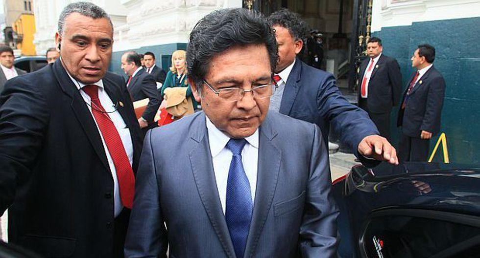 Ramos Heredia firmó como fiscal de la Nación pese a suspensión