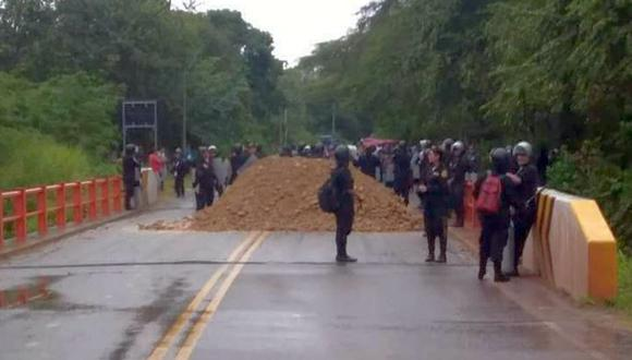 Según la PNP, se han reportado 16 bloqueos en las vías de cinco regiones del país (Foto: Hugo Anteparra)