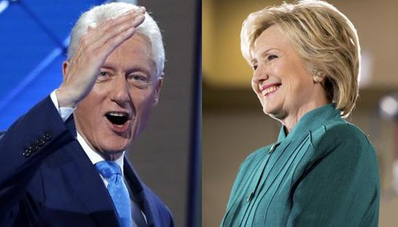 """Bill Clinton: """"Hillary nunca renunciará ante las dificultades"""""""