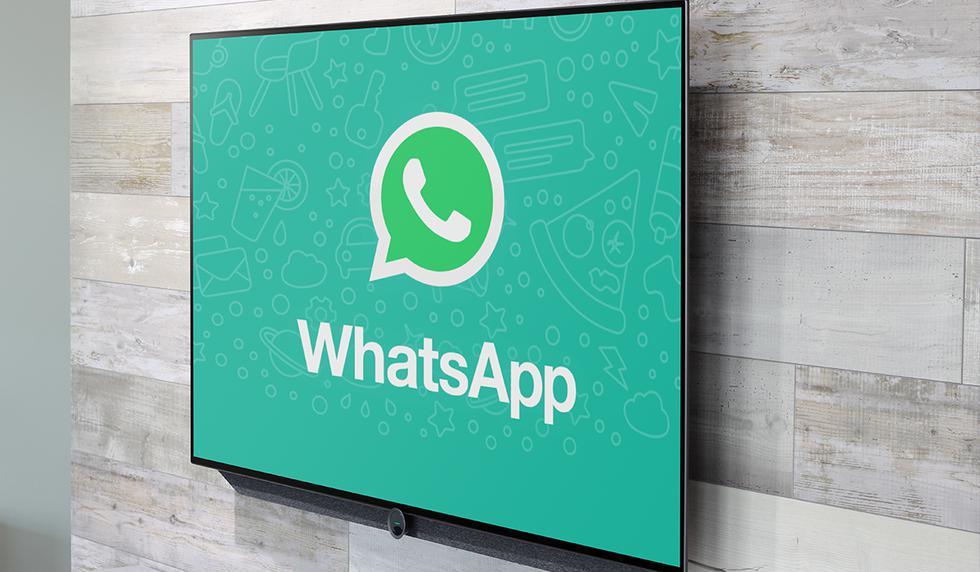 FOTO 1 DE 3 | ¿Quieres usar WhatsApp en tu televisor y chatear desde la comodidad de tu cama? Usa este truco. | Foto: Mock up (Desliza a la izquierda para ver más fotos)