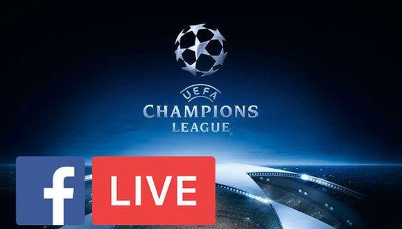 Hinchas podrán disfrutar de los partidos de la Champions desde Facebook. (Foto: UEFA/Facebook)
