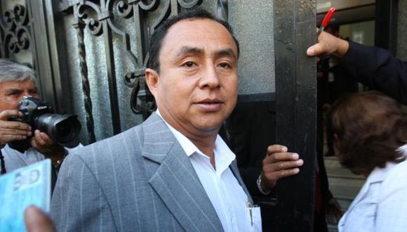 Gregorio Santos es el virtual presidente regional de Cajamarca