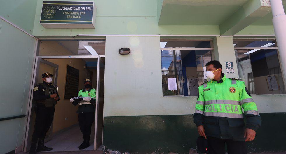 Policías de Cusco confeccionan 500 mascarillas a personas de bajos recursos. (Foto: Melissa Valdivia)