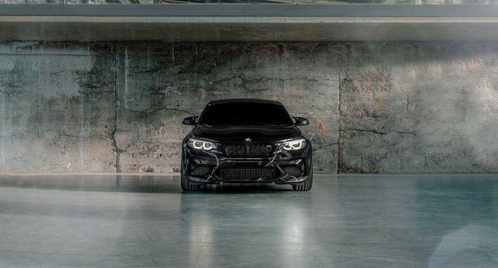 Además de la intervención urbana en la carrocería, el BMW M2 Competition by FUTURA 2000 cuenta con una velocidad limitada de 250 km/h. (Fotos: BMW)