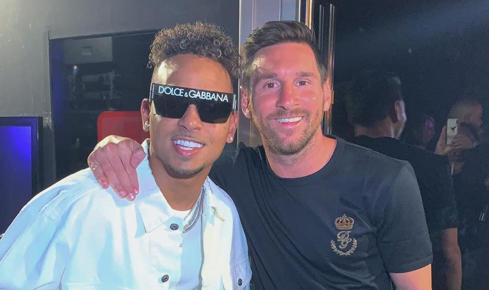 Lionel Messi: Intentan agredir al jugador argentino mientras bailaba con su esposa Antonela y amigos en Ibiza (España). El suceso ocurrió después de un concierto de Ozuna. Foto: Instagram @ozuna