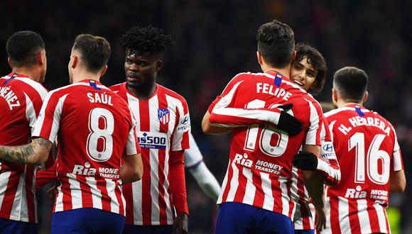 Atlético de Madrid medirá fuerzas con Granada por LaLiga Santander. Conoce los horarios y canales de todos los partidos de hoy, sábado 8 de febrero. (AFP)