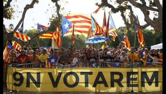 Casi el 60% de catalanes apoya la independencia de Cataluña