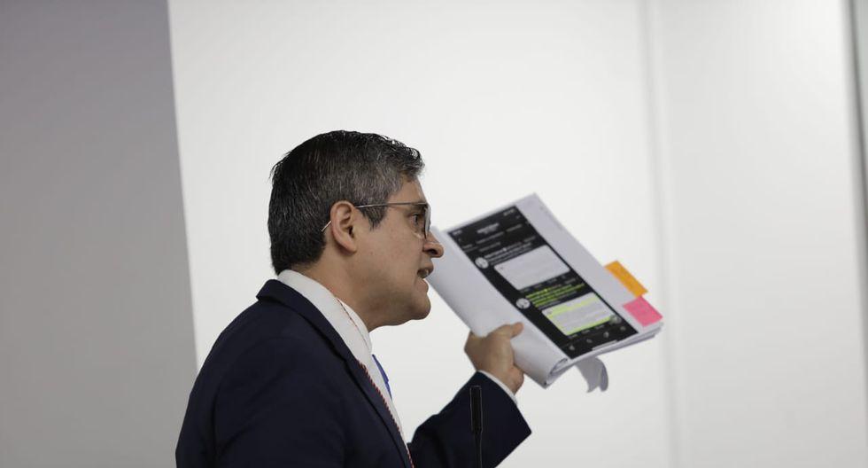 El fiscal José Domingo Pérez argumentó que existe peligro de obstrucción de parte de Keiko Fujimori en la investigación en su contra. (Foto: GEC)
