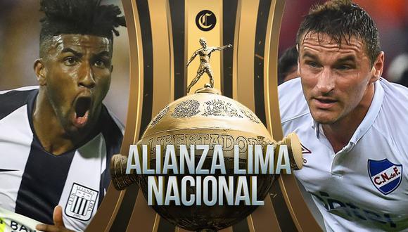 Alianza Lima debuta ante Nacional de Uruguay por el grupo F de la Copa Libertadores | Foto: Composición El Comercio