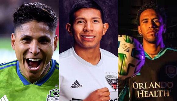 Los jugadores peruanos se encuentran a la espera del inicio de la MLS. (Foto: Collage)