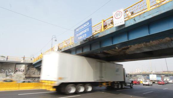 Vía de Evitamiento: repararán puentes dañados en 15 días