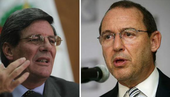 Rafael Rey y José Chlimper fueron designados miembros del directorio del BCR en octubre de 2016. Su periodo concluye en julio de 2021.