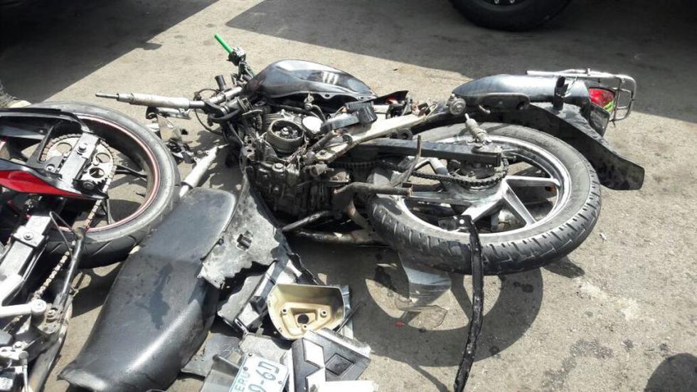 Costa Verde: así acabaron la camioneta y las motos tras choque - 8