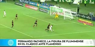 Fernando Pacheco recibe elogios de hinchas del Fluminense
