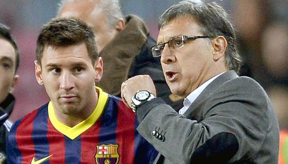 Martino defendió a capa y espada a Lionel Messi de las críticas