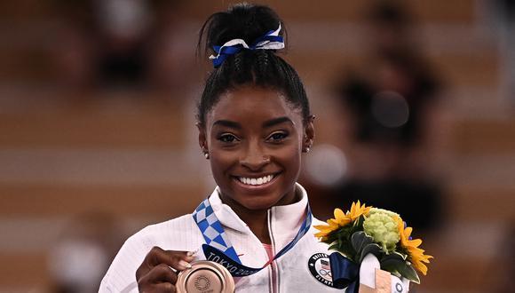 La deportista repitió la medalla ganada en Río 2016. (Foto: AFP)