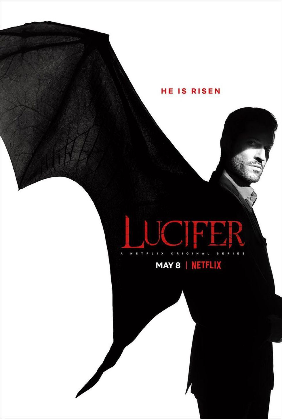 "Primer póster de la nueva temporada de ""Lucifer"" (Foto: Netflix)"