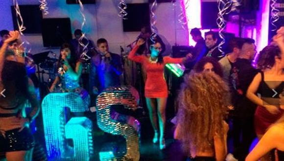 Fiorella Cayo también celebró en el búnker de Melissa Klug
