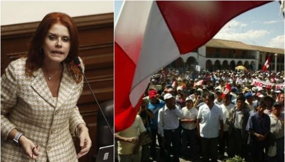 """Ante las propuestas de la Comisión, la parlamentaria indicó que desde la bancada de Peruanos por el Kambio las van a observar. """"Creemos que reiterar la insistencia en ese mecanismo, es malísimo"""", agregó."""