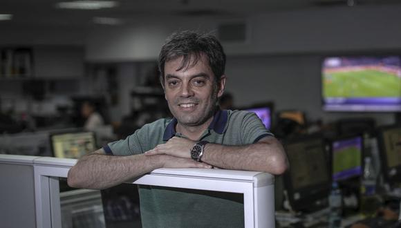 """Marín García se desempeñó como subdirector de """"El País"""" de España hasta diciembre pasado, y ahora es jefe de Tecnología y director de la revista """"Retina"""", del mismo diario. (Foto: Hugo Pérez)"""