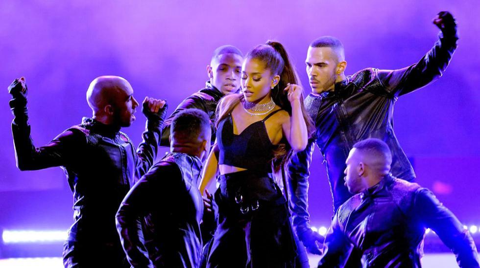 Ariana Grande en los Billboard Music Awards. (Foto: AFP)